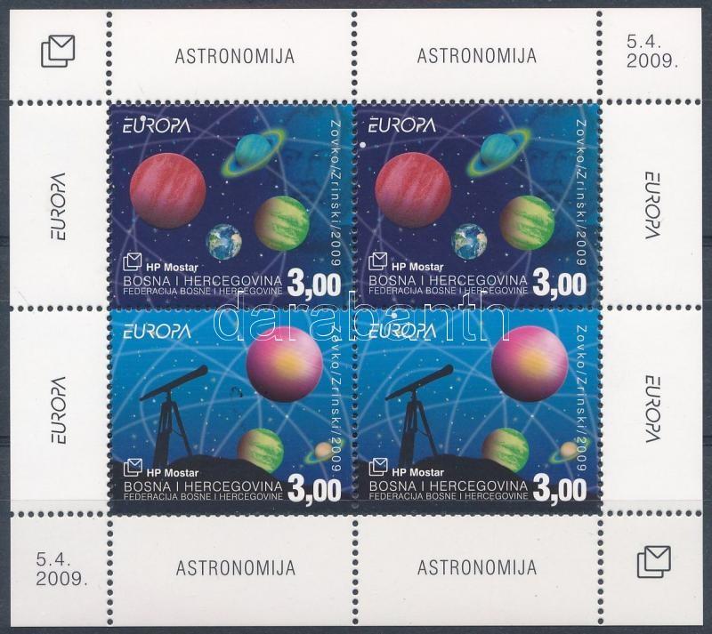 Europe CEPT Astronomy block, Europa CEPT: Csillagászat blokk