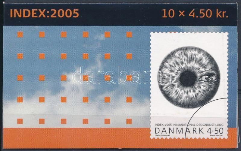 International Design Exhibition stamp booklet, Nemzetközi design kiállítás bélyegfüzet