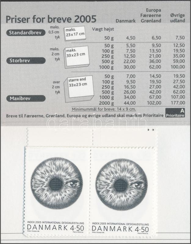 International design exhibition stamp booklet, Nemzetközi design kiállítás bélyegfüzet, Internationale Design-Ausstellung Markenheftchen