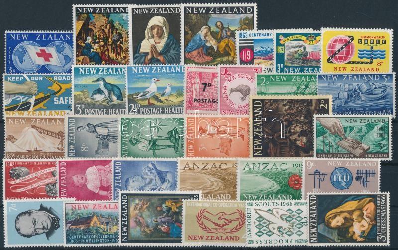 1959-1966 7 sets + 16 stamps, 1959-1966 7 klf sor + 16 klf önálló érték