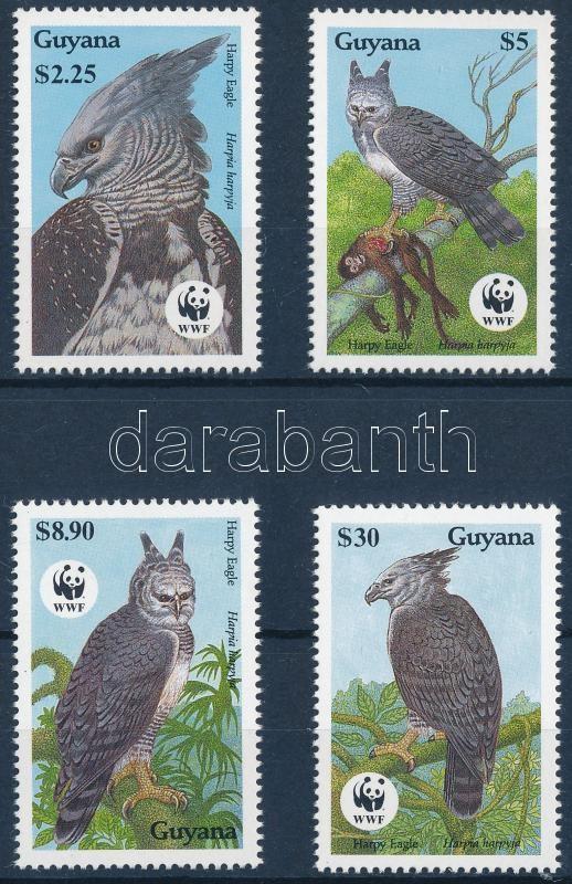 WWF Harpy eagle set, WWF: Hárpia sor