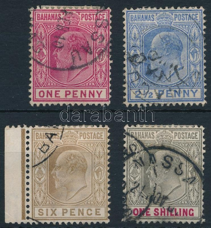 4 diff Definitives, 4 klf Forgalmi