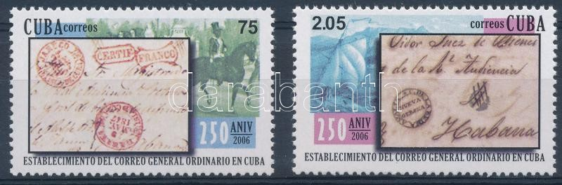 250th anniversary of the Post set, 250 éves a posta sor
