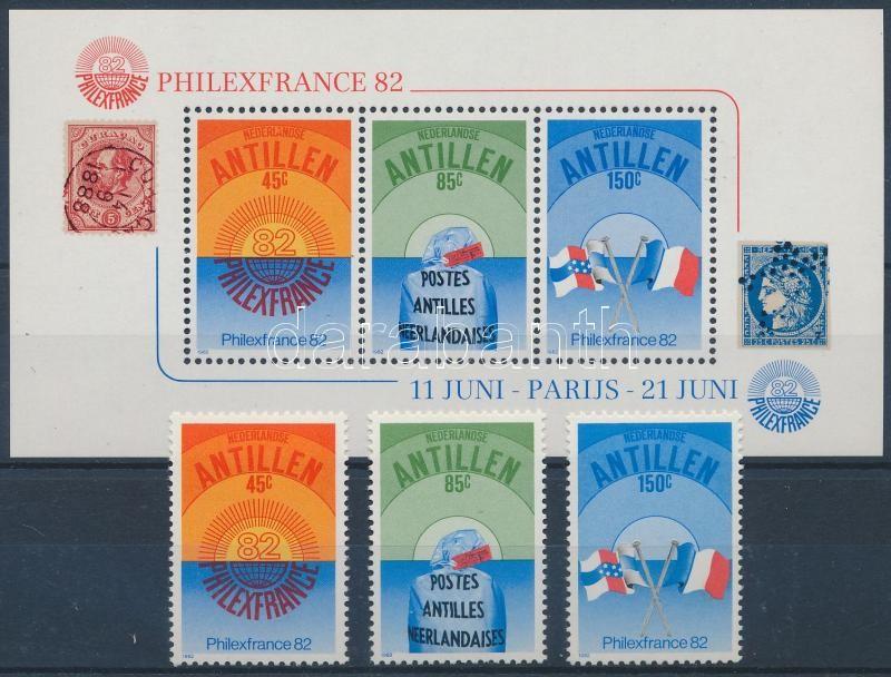 International Stamp Exhibition PHILEXFRANCE, Paris set + block, Nemzetközi bélyegkiállítás PHILEXFRANCE, Párizs sor + blokk