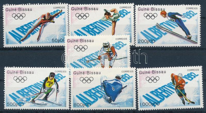 Olympic games - Albertville set, Olimpia, Albertville sor