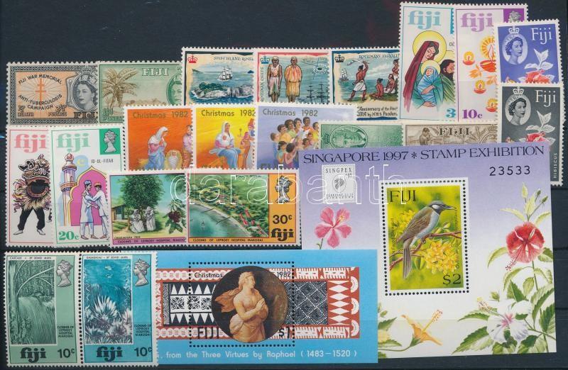 1951-1997 2 klf blokk + 6 klf sor + 2 klf önálló érték, 1951-1997  2 blocks + 6 sets + 2 stamps