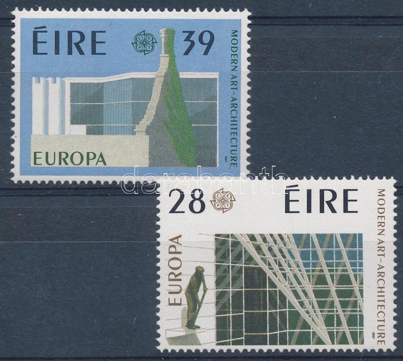 Europa CEPT: Modern architecture set, Europa CEPT: Modern építészet sor