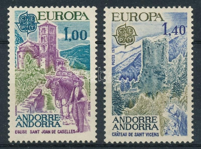 Europe CEPT: Landscapes set, Europa CEPT: Tájak sor