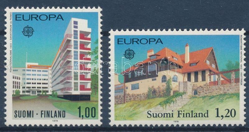 CEPT Historical monuments set, Europa CEPT: Műemlékek sor