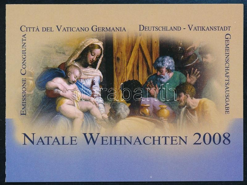 Christmas, paintings self-adhesive stamp-booklet, Karácsony, festmények öntapadós bélyegfüzet