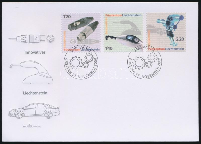 Innovation set FDC, Innováció sor FDC-n