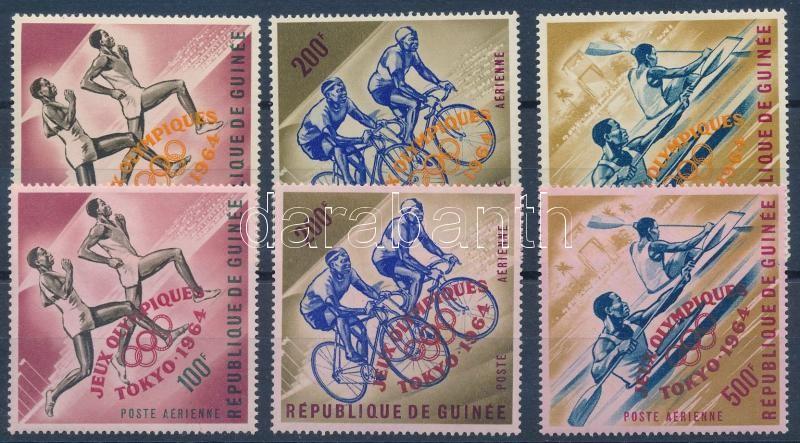 Tokyo Olympics sets, Tokiói olimpia sorok