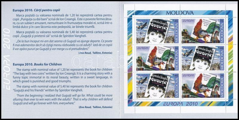 Europa CEPT: Children's book stamp-booklet, Europa CEPT: Gyermek könyvek bélyegfüzet