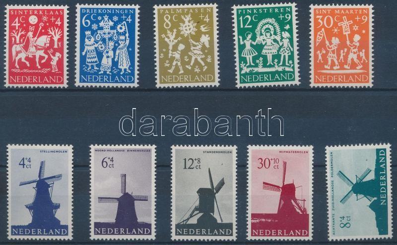1961-1963 2 sets, 1961-1963 2 klf sor