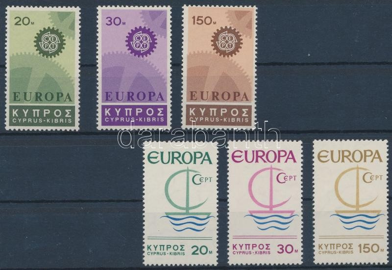 Europa CEPT 1966-1967 2 sets, Europa CEPT 1966-1967 2 klf sor