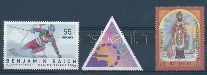 3 klf önálló érték, 3 stamps