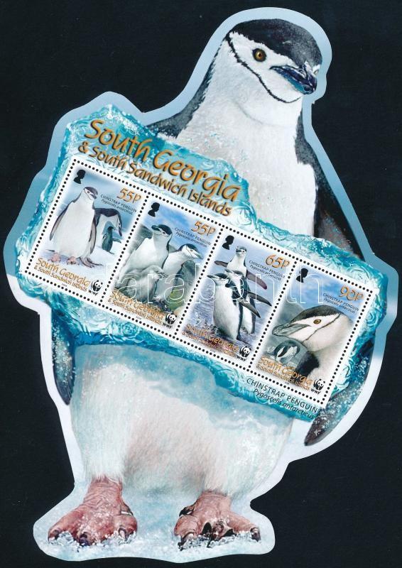 WWF Pingvinek blokk, WWF Pinguins block