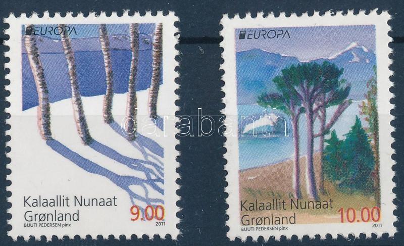 Europa CEPT Forests set, Europa CEPT Erdők sor