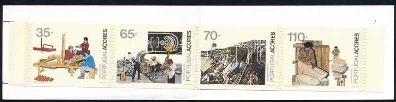 Local jobs stamp booklet, Helyi foglalkozások bélyegfüzet