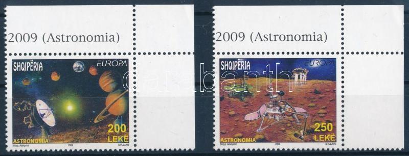 Europe CEPT Astronomy corner set, Europa CEPT Csillagászat ívsarki sor