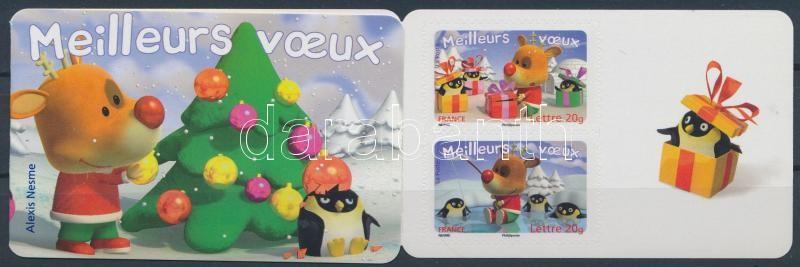 Christmas and New Years stamp-booklet, Karácsony és Újév bélyegfüzet