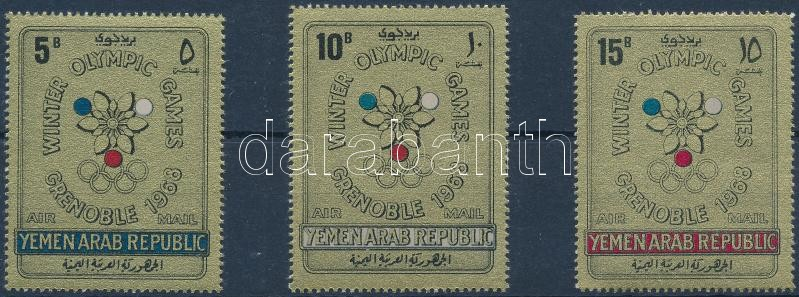 Winter Olympics, Grenoble set, Téli Olimpia, Grenoble sor