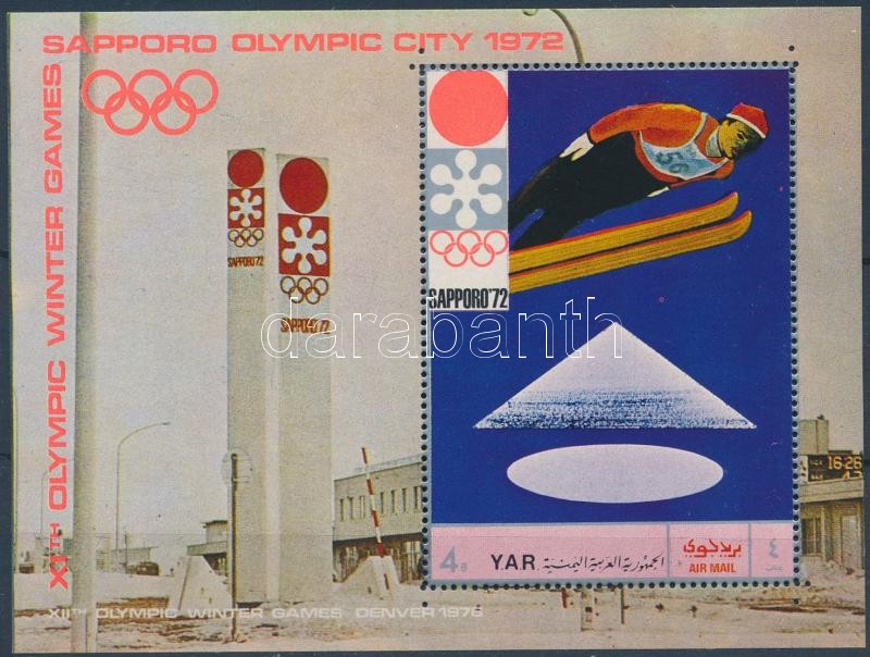 Winter Olympics, Sapporo block, Téli olimpiai játékok, Sapporo blokk