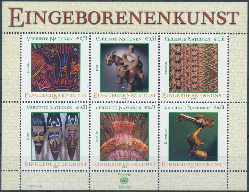 Indigenous art (I.) block, Bennszülött művészet (I) blokk