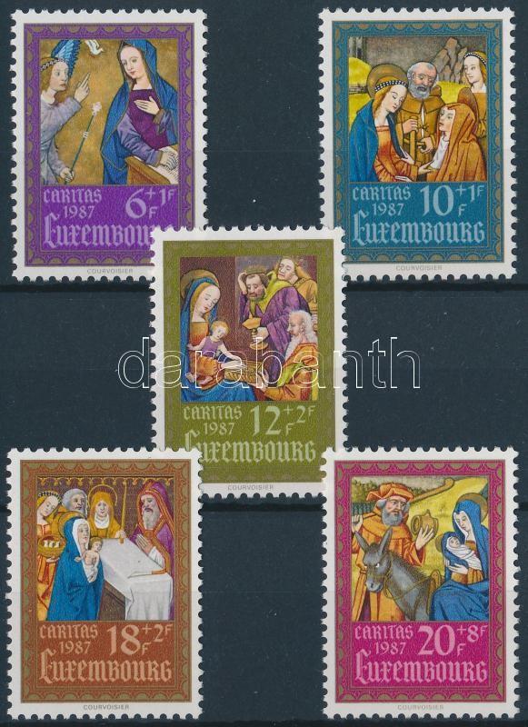 Caritas, tankönyv miniatúrák (II) sor, Caritas, textbook miniatures (II) set