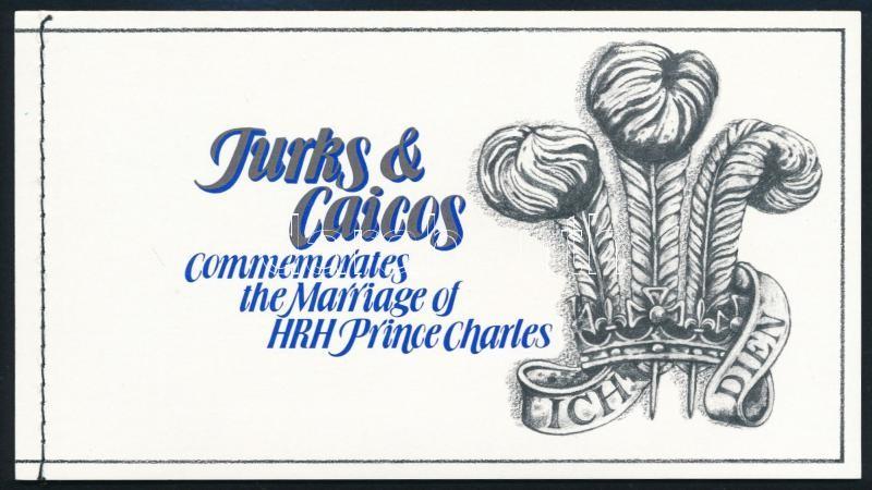 Prince Charles and Lady Diana's wedding stamp-booklet, Károly és Diana esküvője bélyegfüzet