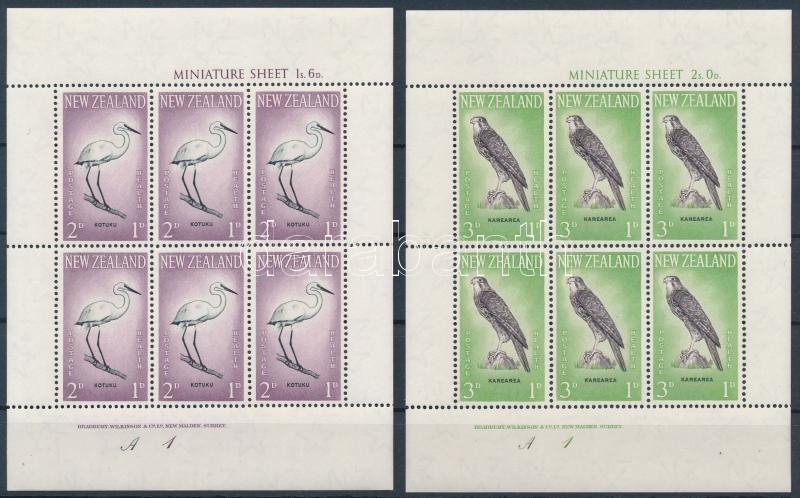Health: Birds (III.)  minisheet set, Egészség: Madarak (III). kisívsor