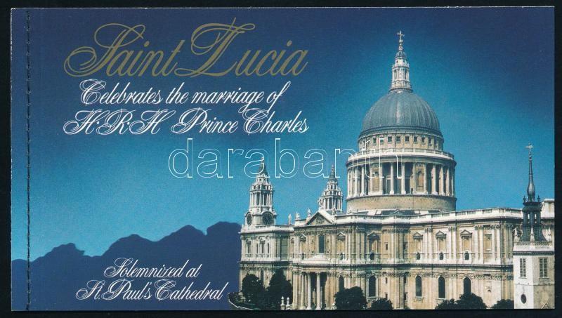 Prince Charles and Lady Diana's wedding stamp booklet, Károly herceg és Lady Diana esküvője bélyegfüzet
