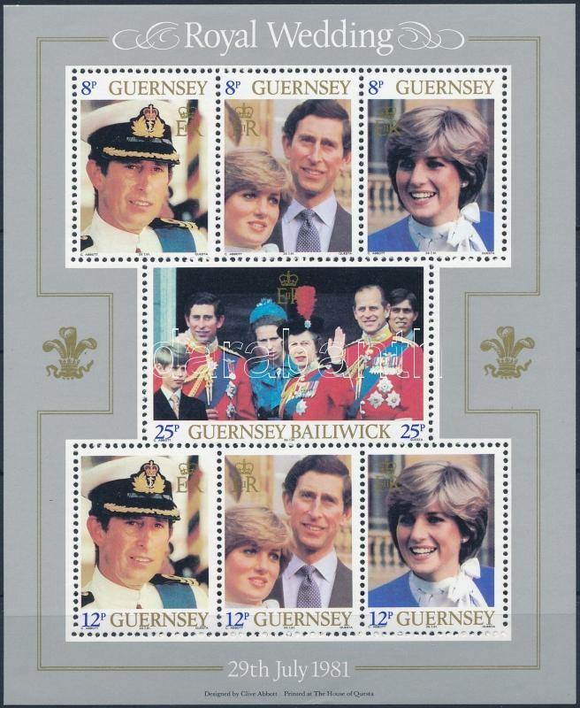 Prince Charles and Lady Diana block, Károly herceg és Lady Diana blokk