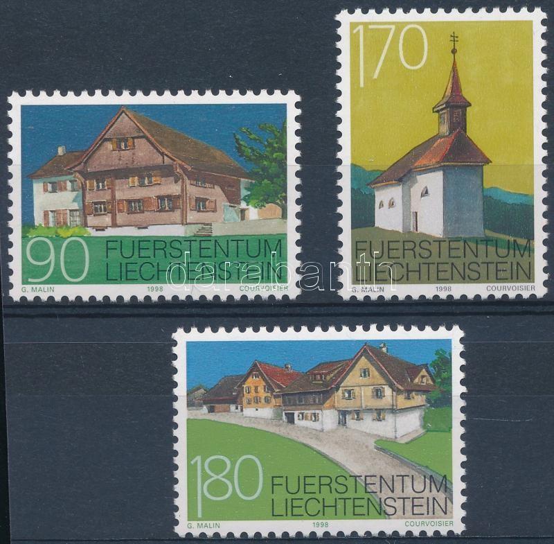 Houses set, Házak sor