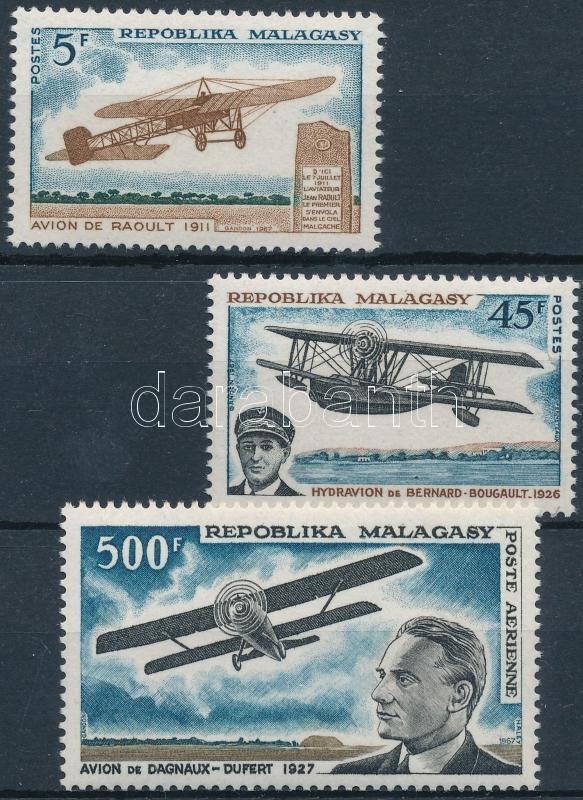 Aviation history set, A repülés története sor