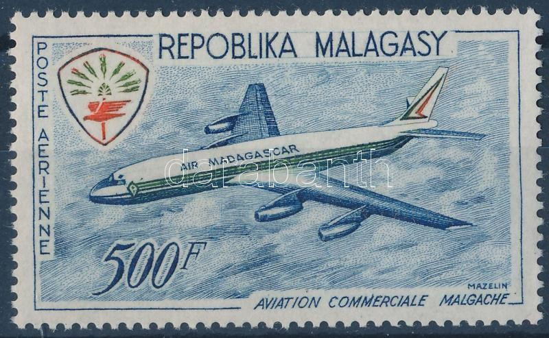 Airplane stamp, Repülő bélyeg
