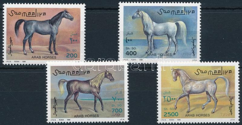 Arabian thoroughbred set, Arab telivér sor