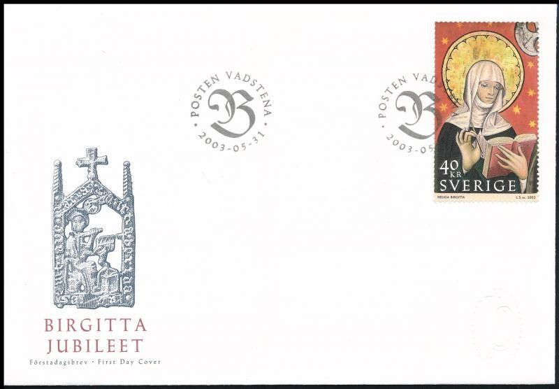 St. Brigitta FDC, Szent Brigitta FDC-n