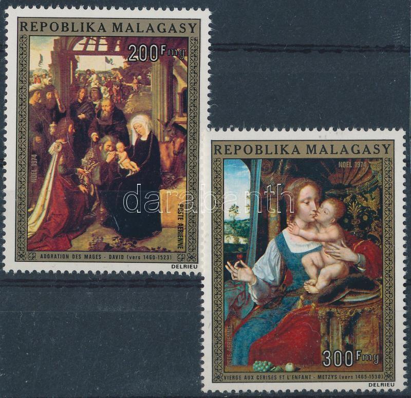 Karácsony: Festmények sor, Christmas: Paintings set