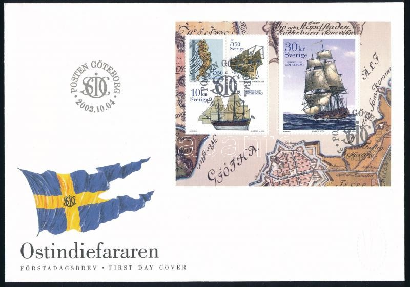 Ship set FDC, Hajó sor FDC-n