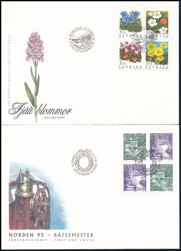 2 FDC, 2 klf FDC