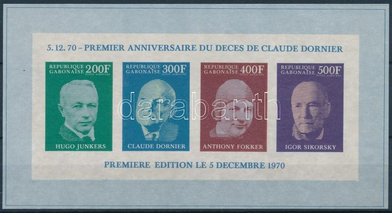 Claude Dornier's death block, Claude Dornier halála blokk