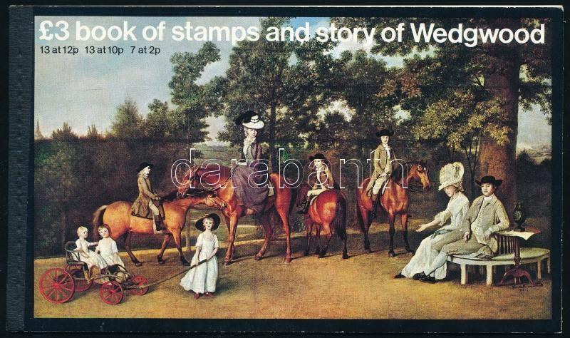 Queen Elisabeth II. stamp-booklet, II. Erzsébet királynő bélyegfüzet