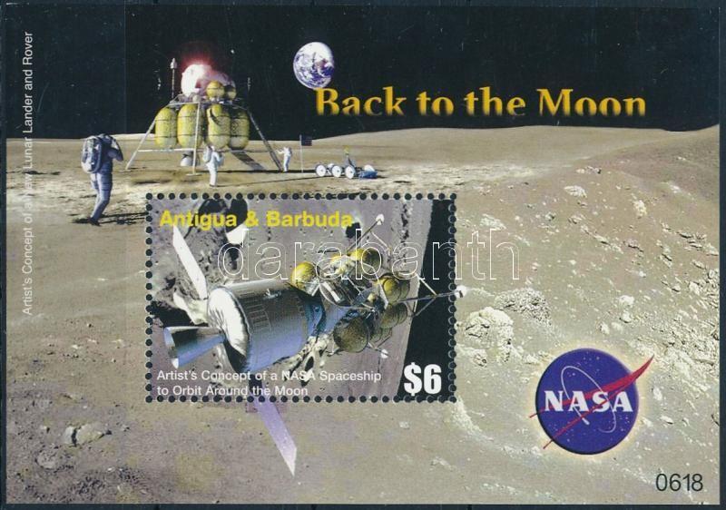 First man on the moon block, 25 éve járt az első ember a Holdon blokk
