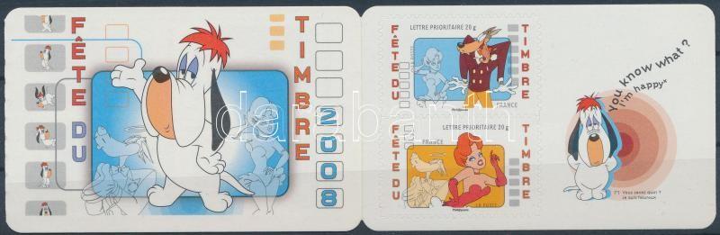 Tex Avery születésének 100. évfordulója bélyegfüzet, Tex Avery's birth anniversary stamp-booklet