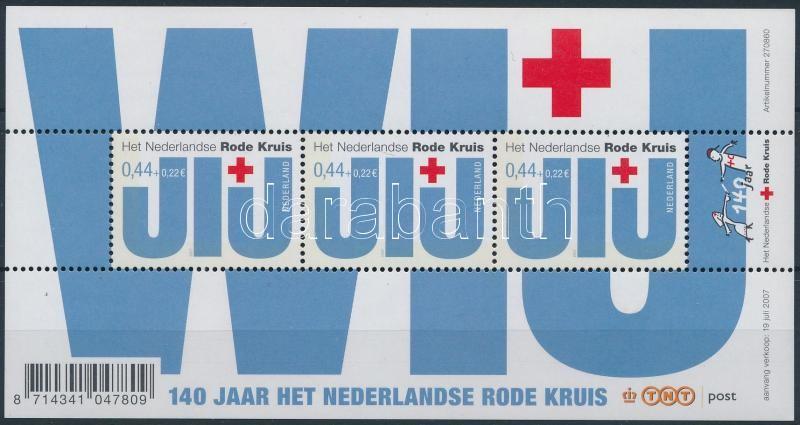 140th anniversary of Red Cross block, 140 éves a vöröskereszt blokk