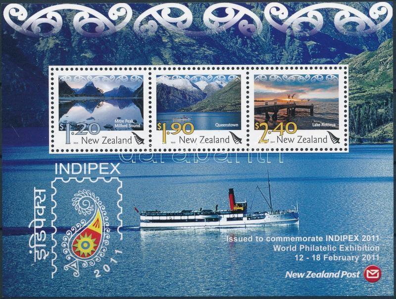 International Stamp Exhibition INDIPEX block, Nemzetközi bélyegkiállítás INDIPEX blokk