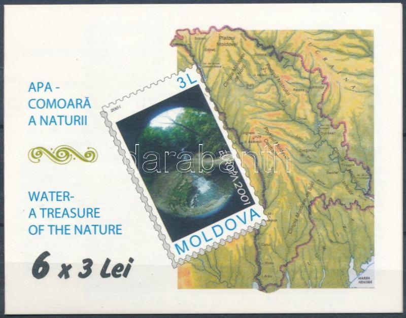 Europa CEPT: Water, the source of life stamp-booklet, Europa CEPT: Víz, az élet forrása bélyegfüzet