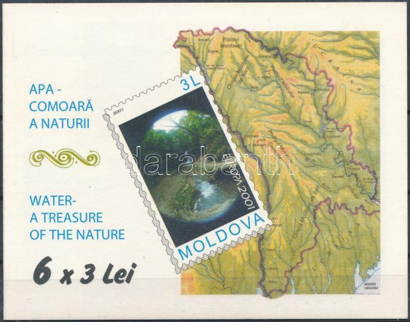 Europa CEPT: Water, the source of life is a stamp-booklet, Europa CEPT: Víz, az élet forrása bélyegfüzet