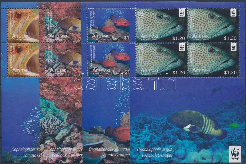 WWF: Percidae minisheet, WWF: Sügérfélék kisívsor